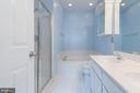 Master Bath with Sep Shower and Tub! - 5266 BALLYCASTLE CIR, ALEXANDRIA