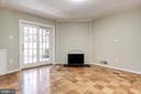 Lower Level Bedroom w/ Wood Burning Fireplace - 3747 1/2 KANAWHA ST NW KANAWHA ST NW, WASHINGTON