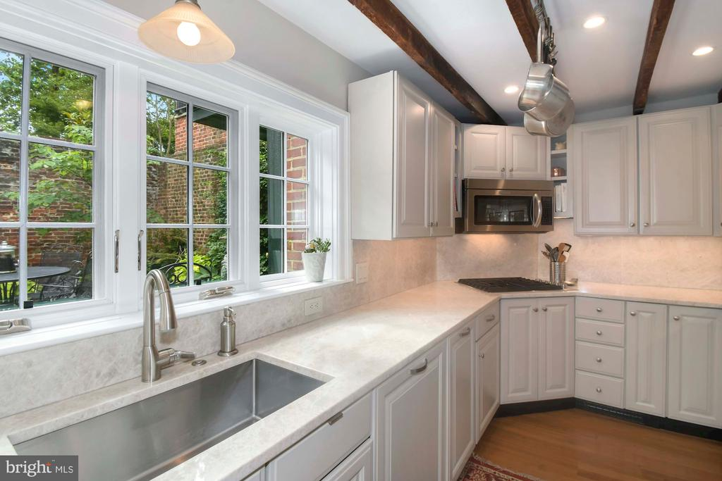 Stunning  new renovated chef's kitchen - 223 N ROYAL ST, ALEXANDRIA