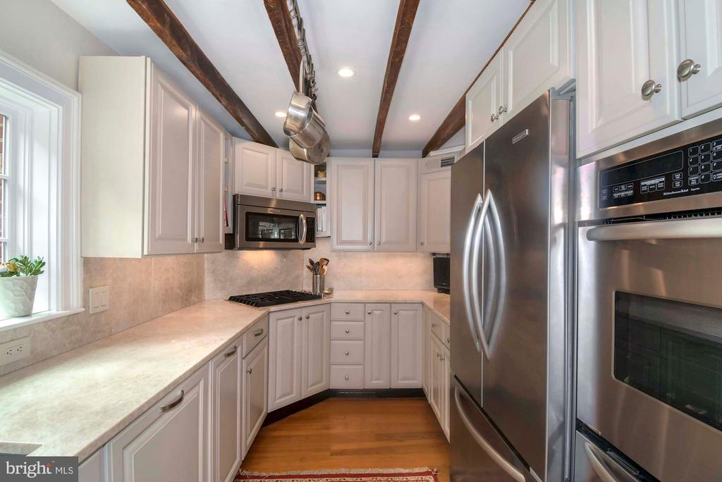 Stainless steel appliances, quartzite countertops - 223 N ROYAL ST, ALEXANDRIA