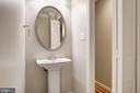 Main Level Powder Room - 3747 1/2 KANAWHA ST NW KANAWHA ST NW, WASHINGTON