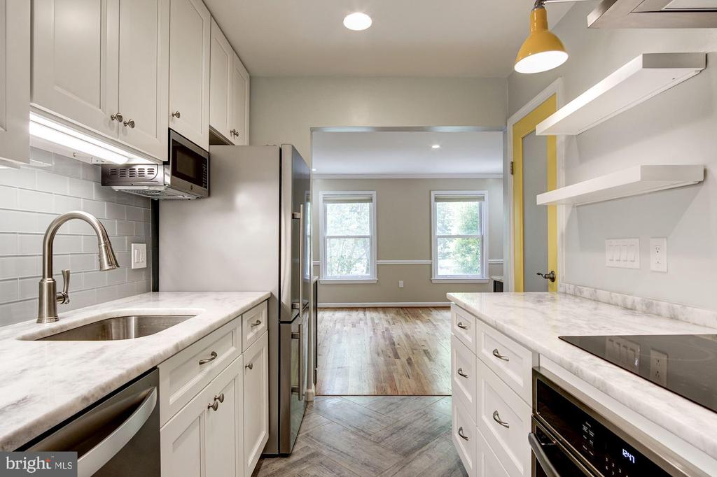 Kitchen - 3747 1/2 KANAWHA ST NW KANAWHA ST NW, WASHINGTON