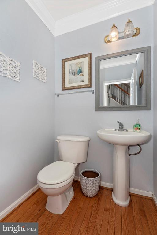 Main level powder room - 3656 BYRON CIR, FREDERICK