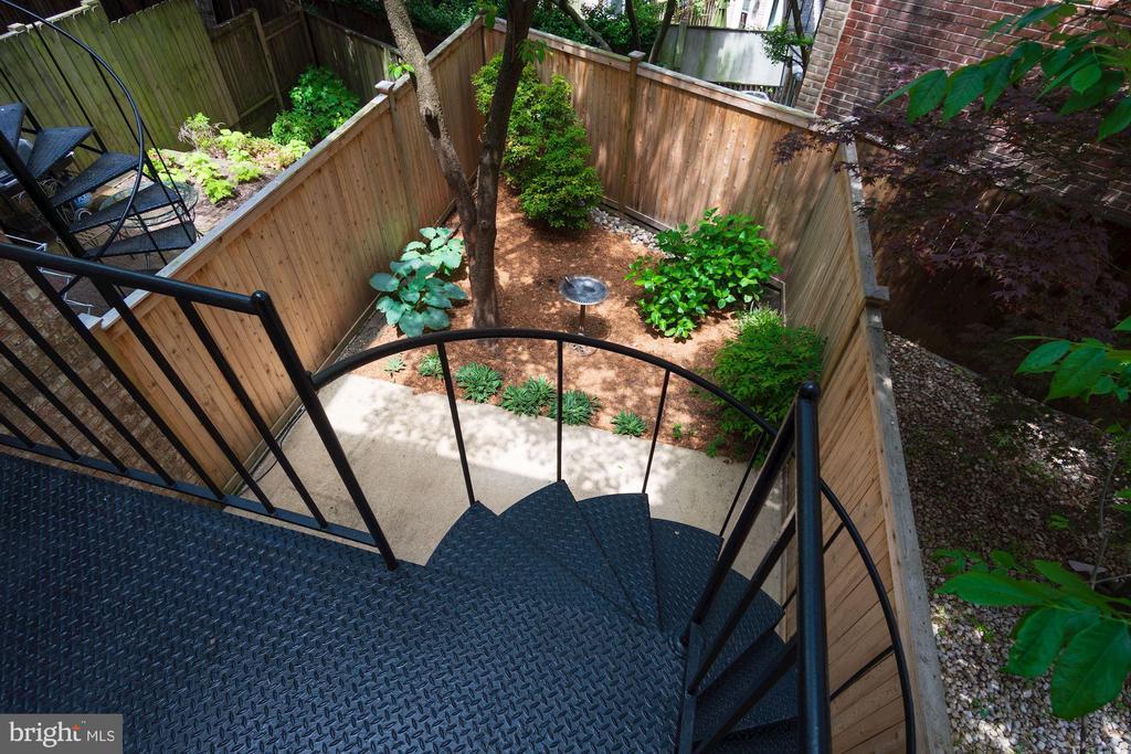Living Room Balcony (Stairs to Patio) - 3747 1/2 KANAWHA ST NW KANAWHA ST NW, WASHINGTON