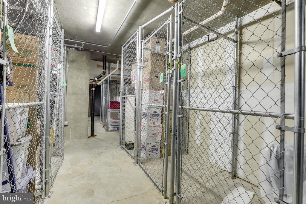 Additional storage locker! - 2230 GEORGE C MARSHALL DR #827, FALLS CHURCH