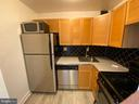 Updated kitchen - 1545 18TH ST NW #502, WASHINGTON