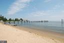 Community beach area - 3428 COHASSET AVE, ANNAPOLIS