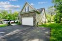 Two car garage with extra wide parking area - 3428 COHASSET AVE, ANNAPOLIS