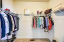 2nd master walk in closet - 3428 COHASSET AVE, ANNAPOLIS