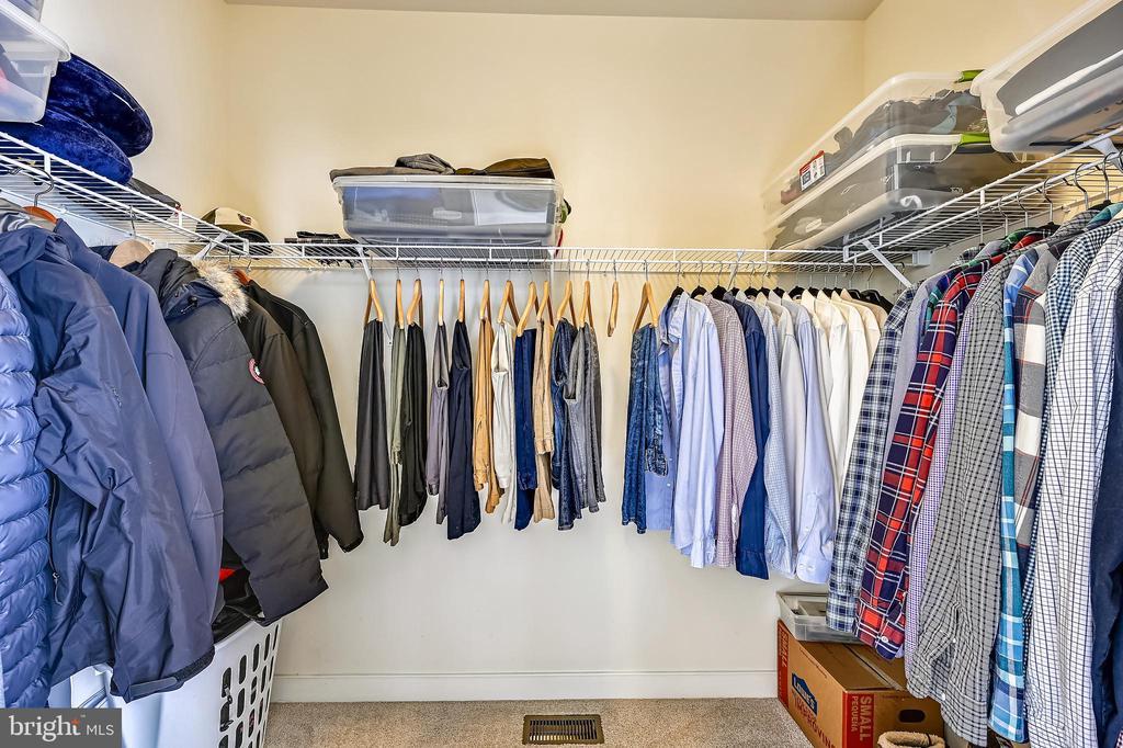 Master walk in closet - 3428 COHASSET AVE, ANNAPOLIS