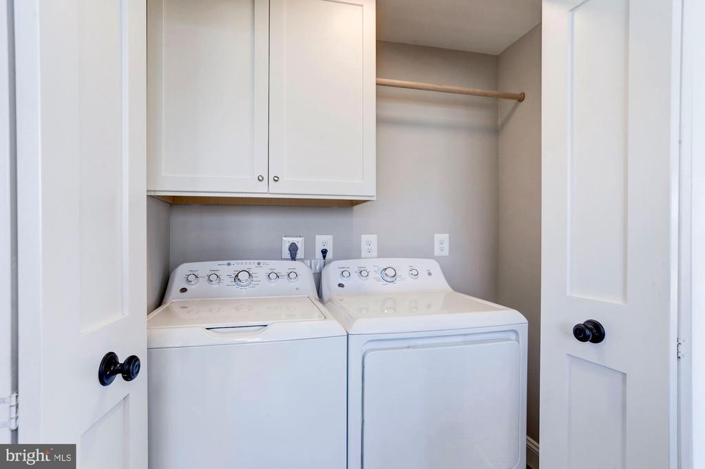 Like all else here, washer & dryer are brand new - 10201 GROSVENOR PL #1701, NORTH BETHESDA