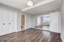 BR 3:  Beautiful views x 2 thanks to mirrored wall - 10201 GROSVENOR PL #1701, NORTH BETHESDA