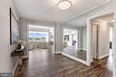 Stunning foyer sets the tone for this special home - 10201 GROSVENOR PL #1701, NORTH BETHESDA