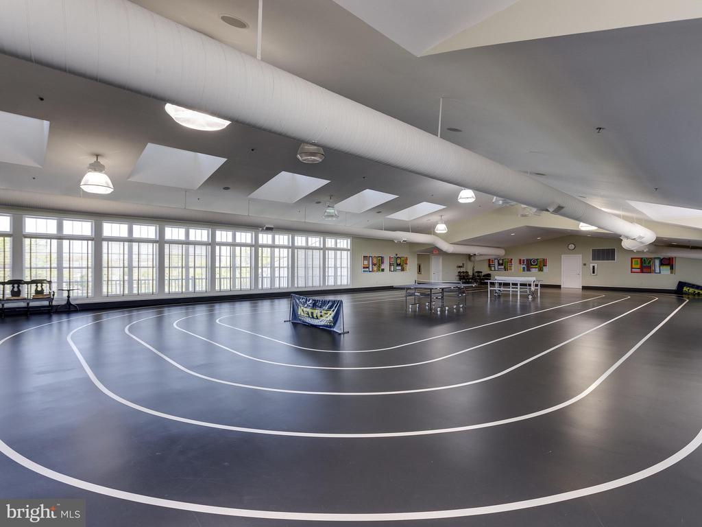 Indoor track at clubhouse - 20441 ISLAND WEST SQ, ASHBURN
