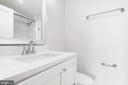En suite full BA w/quartz counters & high-end tile - 10201 GROSVENOR PL #1701, NORTH BETHESDA