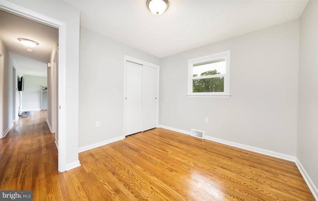 Bedroom 3 - more hardwoods - 5239 REELS MILL RD, FREDERICK