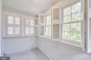 Sunroom space. - 116 S PITT ST, ALEXANDRIA