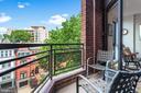 Private Balcony - 1099 22ND ST NW #608, WASHINGTON