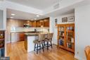Gourmet Kitchen with Breakfast Bar - 1099 22ND ST NW #608, WASHINGTON