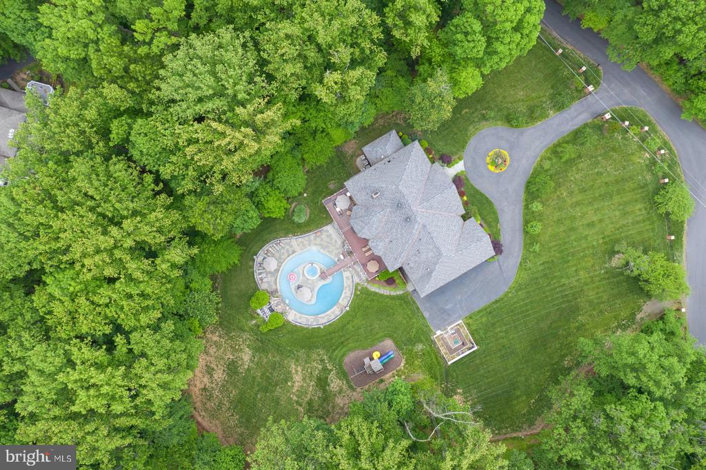 Aerial Photo Of Property - 3722 HIGHLAND PL, FAIRFAX