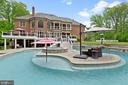 Pool Island, Deck, Hot Tub/Spa & Back Of House - 3722 HIGHLAND PL, FAIRFAX