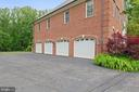 Garage Side Of House - 3722 HIGHLAND PL, FAIRFAX