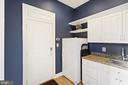 Mud Room With Sink, Granite Countertop & Pantry - 3722 HIGHLAND PL, FAIRFAX