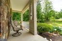 front porch - 147 SANFORD FERRY CT, FREDERICKSBURG