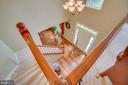 stairs - 147 SANFORD FERRY CT, FREDERICKSBURG