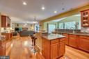 kitchen/ greatroom - 147 SANFORD FERRY CT, FREDERICKSBURG