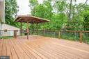 Deck has been freshly stained - 10905 DEERFIELD DR, FREDERICKSBURG