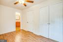 Bedroom 2 has its own en suite and large closet - 10905 DEERFIELD DR, FREDERICKSBURG