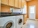 Laundry on main level - 9649 LOGAN HEIGHTS CIR, SPOTSYLVANIA