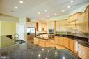 Gourmet Kitchen - 9649 LOGAN HEIGHTS CIR, SPOTSYLVANIA