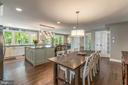 Open concept floor plan - 5000 27TH ST N, ARLINGTON