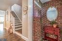 Original Entry Vestibule leads to Living Room - 5000 27TH ST N, ARLINGTON