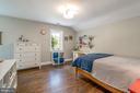 Hardwood floors throughout the Upper level - 5000 27TH ST N, ARLINGTON