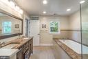 Master Bath with dual sinks - 5000 27TH ST N, ARLINGTON