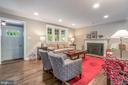 Lots of recessed lights throughout the main level - 5000 27TH ST N, ARLINGTON