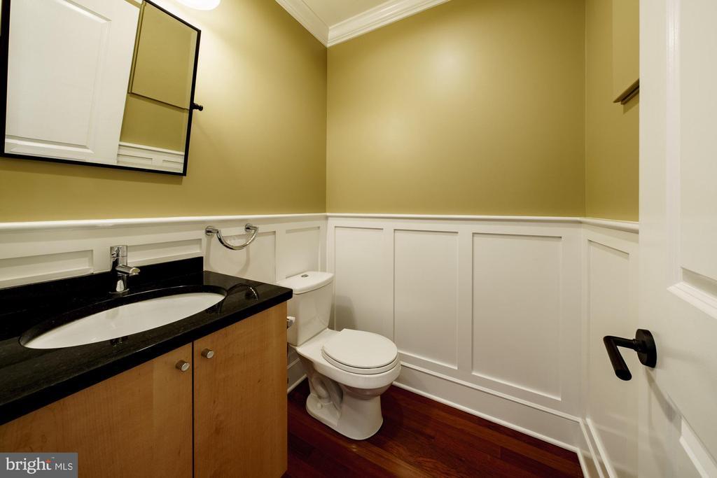 First Floor Half Bathroom - 1324 FAIRMONT ST NW #B, WASHINGTON