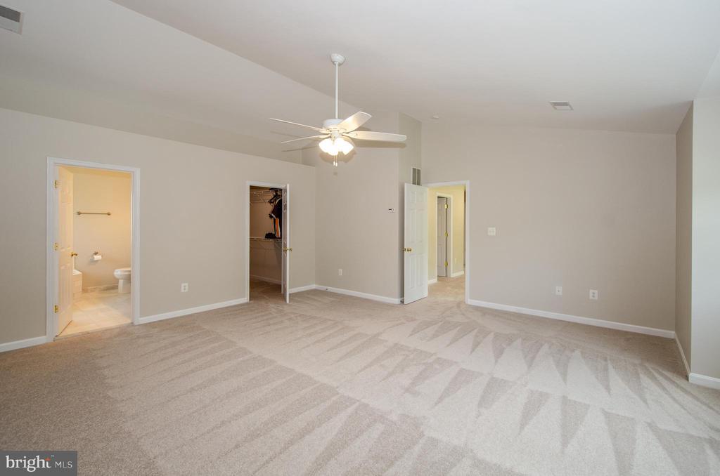 Excellent walk in closet in Master Bedroom - 13652 MOUNTAIN RD, HILLSBORO