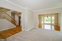 View from Living ROom into Dining - 13652 MOUNTAIN RD, HILLSBORO