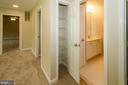 Hall linen closet - 13652 MOUNTAIN RD, HILLSBORO
