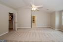 Vaulted Ceilings in Master Bedroom - 13652 MOUNTAIN RD, HILLSBORO