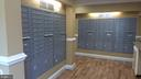 Mailroom   on the entry level of the condo bldg. - 4313 KNOX RD #209, COLLEGE PARK
