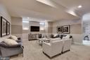 Lower Level Recreation Room - 11229 WHITHORN WAY, ELLICOTT CITY