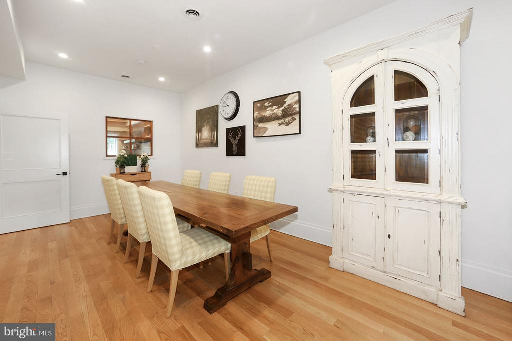Incredible Dining Space Can Accommodate a Crowd! - 125 D ST SE, WASHINGTON