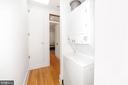 Laundry and Hall Linen Closet - 125 D ST SE, WASHINGTON
