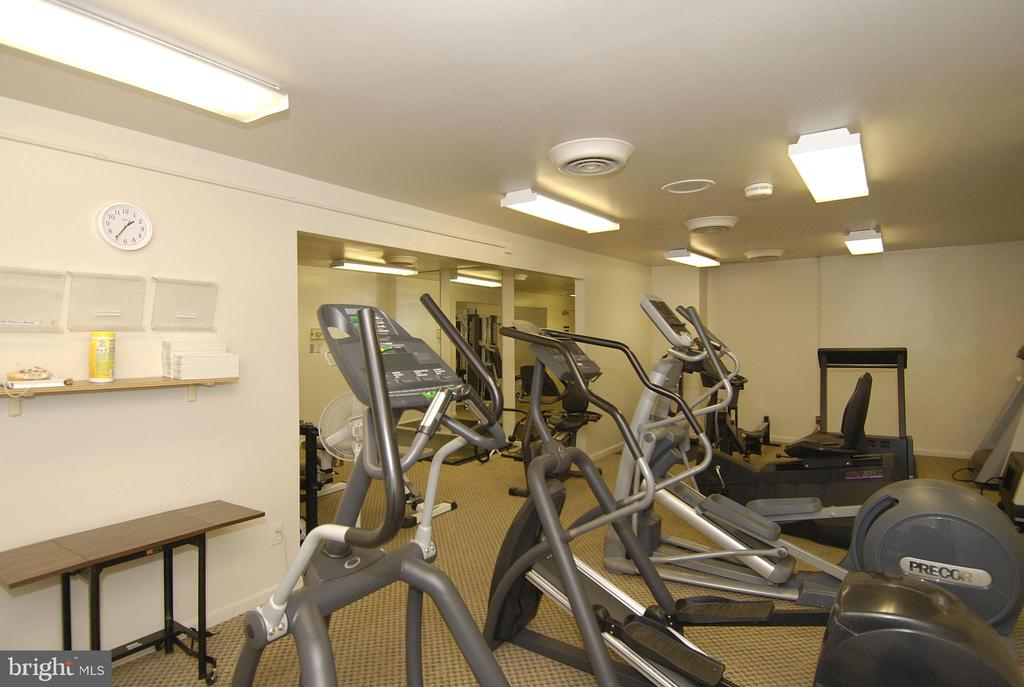 Fitness center (CURRENTLY BEING RENOVATED) - 4620 N PARK AVE #608W, CHEVY CHASE