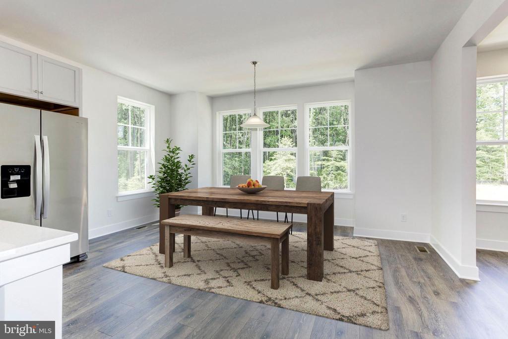 Breakfast Room - 1586 MEADOWLARK GLEN RD, DUMFRIES